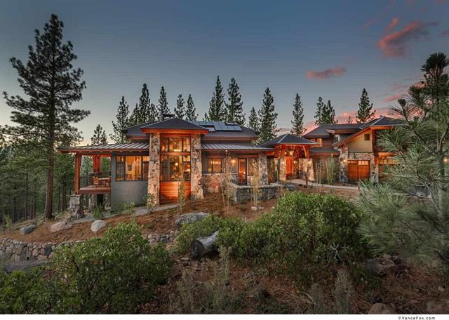 Martis Camp Stunning Home with Views of High Sierra Crest