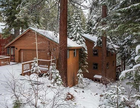 Tahoe Donner Cabin in the Trees - real estate property for sale.