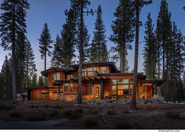 Martis Camp with Views of Lookout Mountain