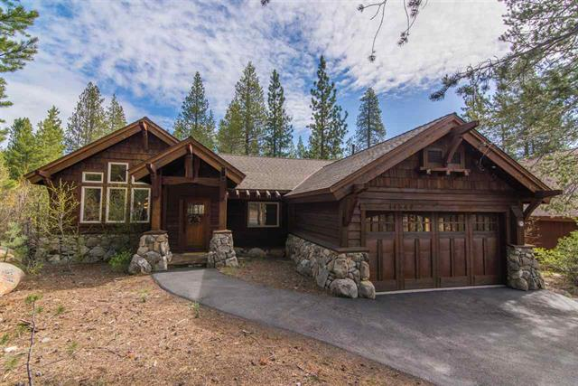 Tahoe Donner rare Single Story backing to Greenbelt