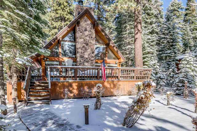 Carnelian Bay - Classic Tahoe A-Frame Cabin for Sale