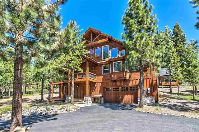 Tahoe Donner Custom Home with Solar