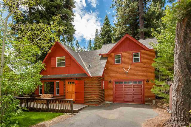 Tahoe Park Log Home for Sale