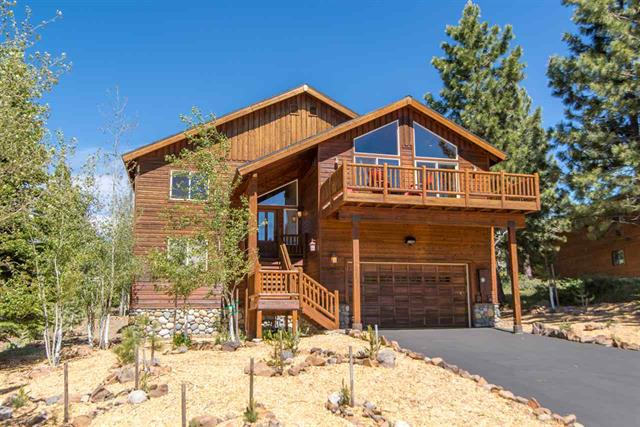 Tahoe Donner Home with Panoramic View of Ski Area