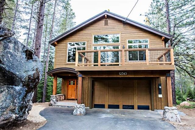 Tahoe Donner Modern New Construction Home with Open Space for Sale