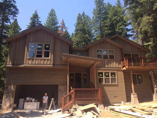 Carnelian Bay Lake Tahoe New Construction Custom Home for Sale