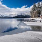 Donner Lake begins to ice-over