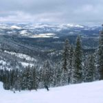 More FEET of Snow Coming!  Skiing 'Burnout' on Northstar's Backside