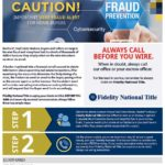 Real Estate Fraud ALERT: Wiring Instructions from Escrow for Buyers