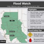 Truckee River Flood Warning this Weekend