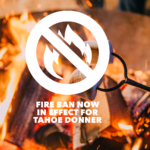 Tahoe Donner Bans Fire Pits and Wood / Charcoal BBQ's