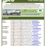 New Carlsbad – Reno / Tahoe Air Service Flights